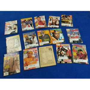 (LOT) 15 JET MAGAZINES THAT INCLUDE TV SHOWS FROM